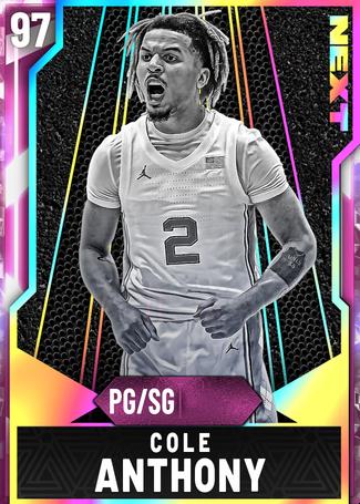 Cole Anthony pinkdiamond card