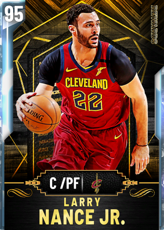 Larry Nance Jr. diamond card