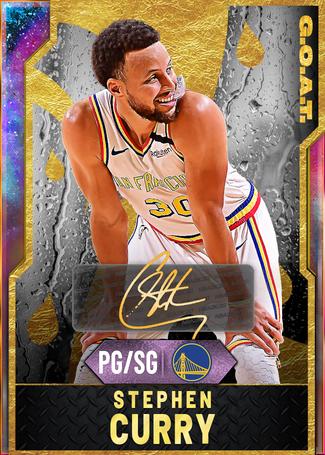 '16 Stephen Curry opal card