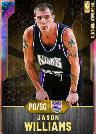 '00 Jason Williams opal card
