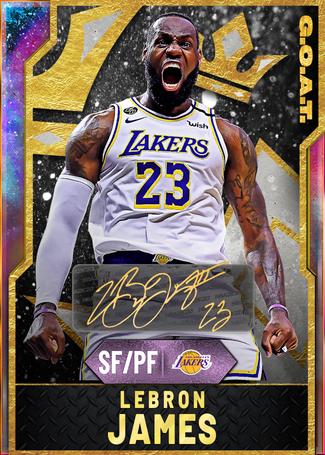 LeBron James opal card