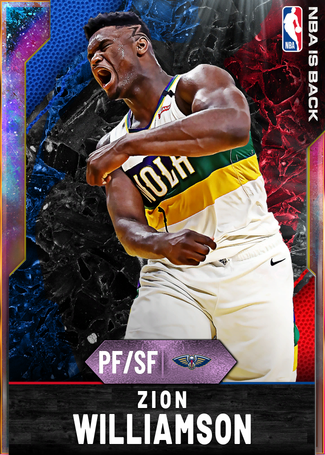Zion Williamson opal card