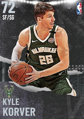 Kyle Korver silver card