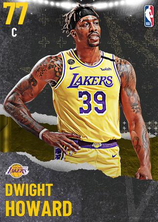 Dwight Howard gold card