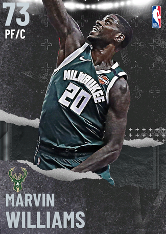 Marvin Williams silver card