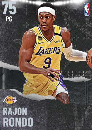 Rajon Rondo silver card