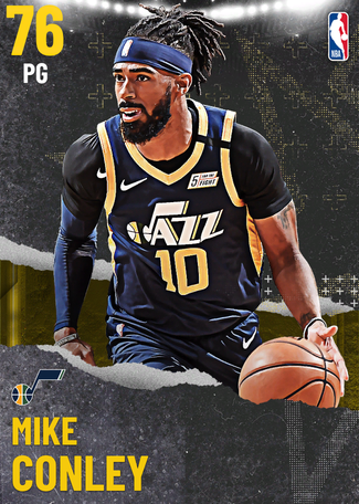 Mike Conley gold card