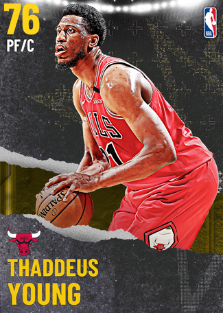 Thaddeus Young gold card