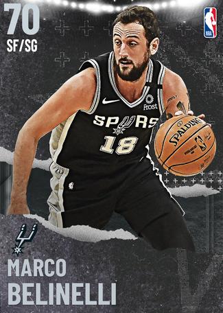 Marco Belinelli silver card
