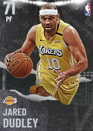Jared Dudley silver card