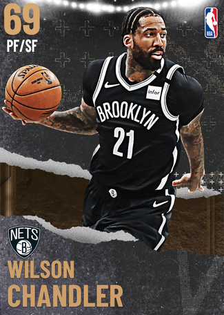 Wilson Chandler bronze card