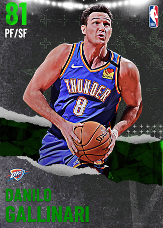 Danilo Gallinari emerald card