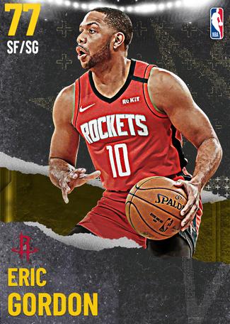 Eric Gordon gold card