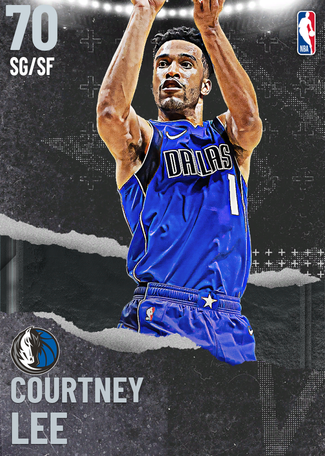 Courtney Lee silver card