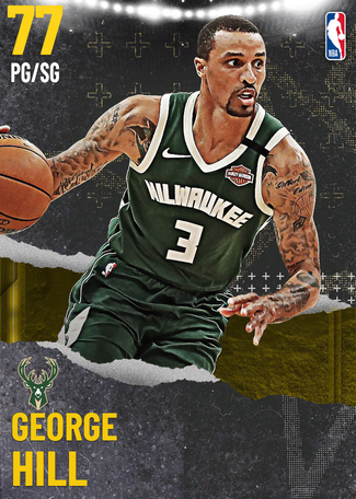 George Hill gold card