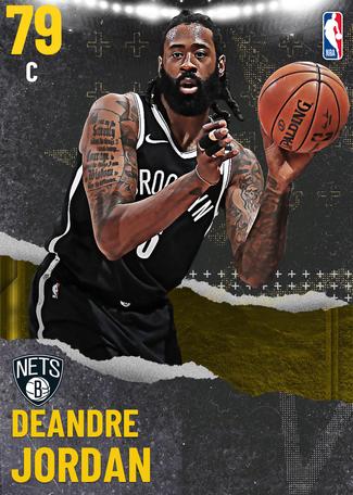 DeAndre Jordan gold card