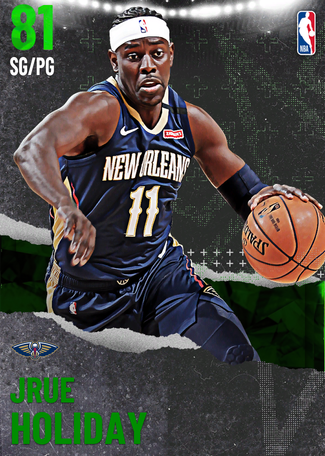 Jrue Holiday emerald card