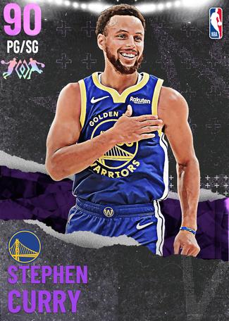 Stephen Curry amethyst card