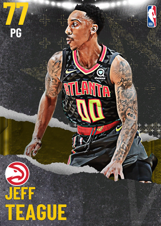 Jeff Teague gold card