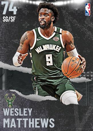 Wesley Matthews silver card