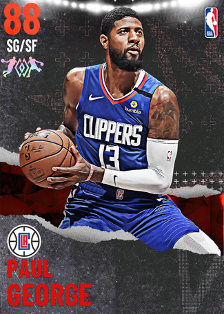 Paul George ruby card