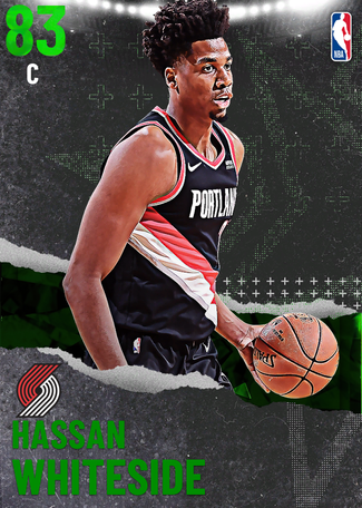 Hassan Whiteside emerald card