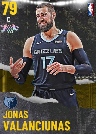 Jonas Valanciunas gold card
