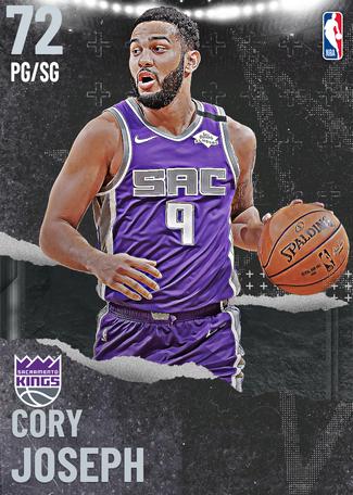 Cory Joseph silver card