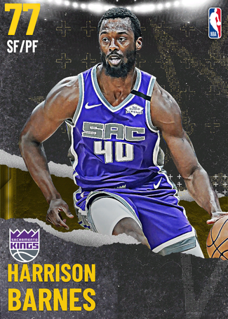 Harrison Barnes gold card