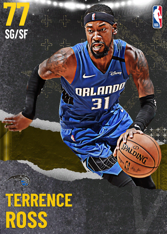 Terrence Ross gold card