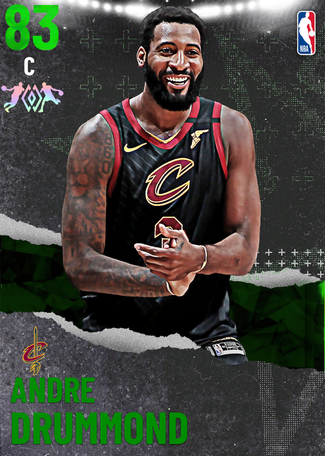 Andre Drummond emerald card