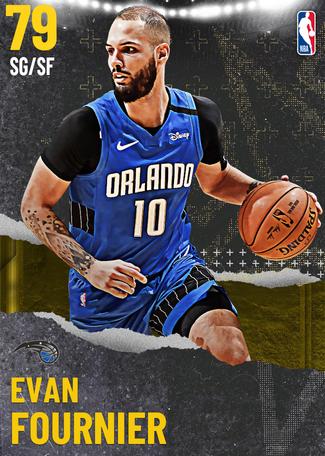 Evan Fournier gold card