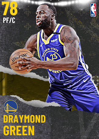 Draymond Green gold card
