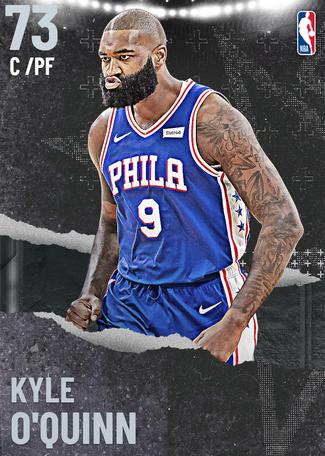 Kyle O'Quinn silver card