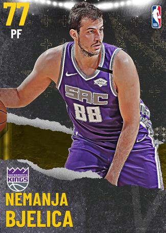 Nemanja Bjelica gold card