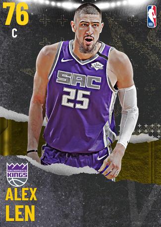 Alex Len gold card