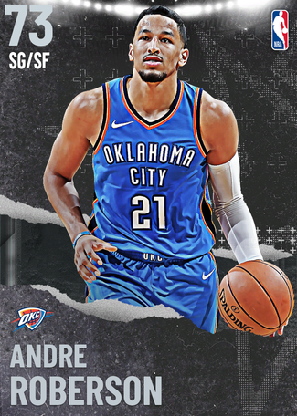 Andre Roberson silver card