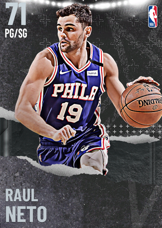 Raul Neto silver card