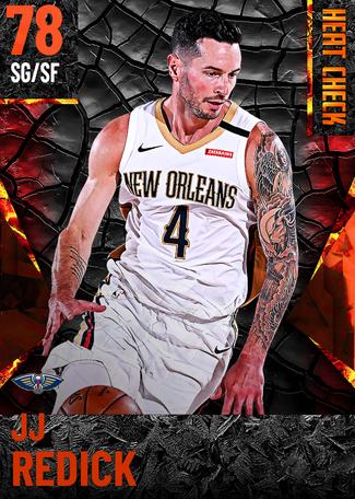JJ Redick fire card
