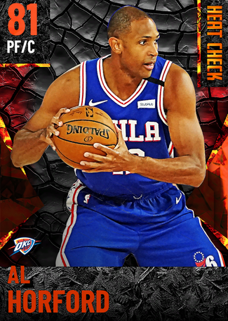 Al Horford fire card