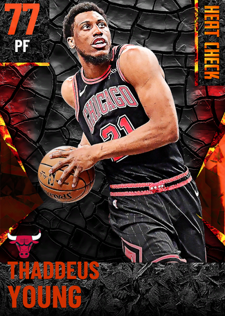 Thaddeus Young fire card