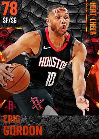 Eric Gordon fire card