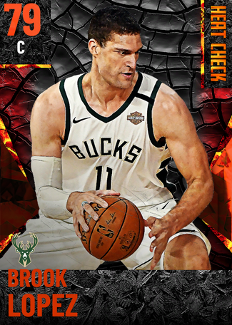 Brook Lopez fire card
