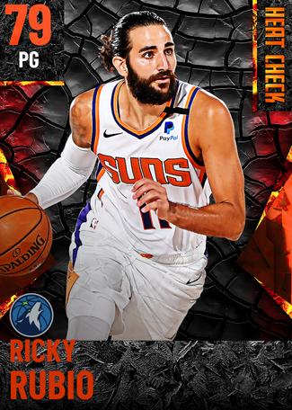 Ricky Rubio fire card