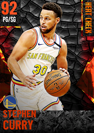 Stephen Curry fire card