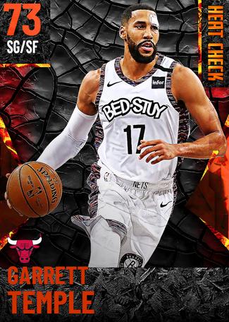 Garrett Temple fire card