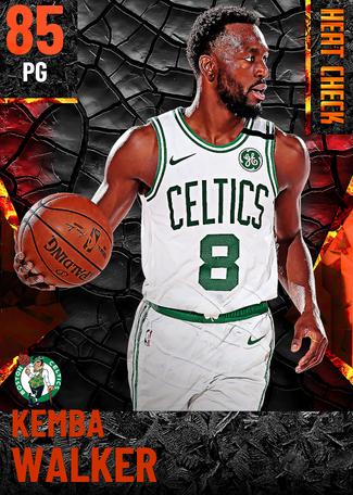Kemba Walker fire card