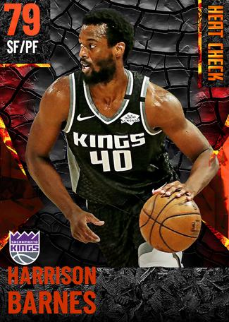 Harrison Barnes fire card