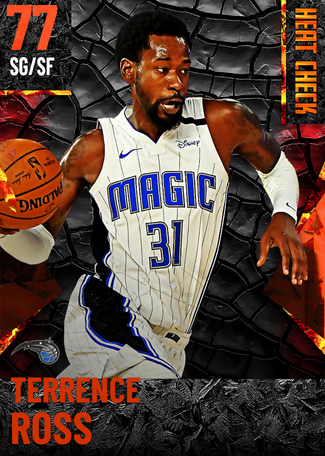 Terrence Ross fire card