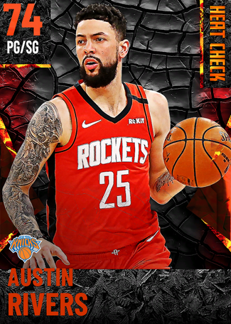 Austin Rivers fire card